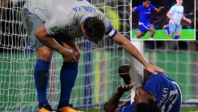 Striker Chelsea Ini Nyaris Meregang Nyawa pada saat melawan Everton