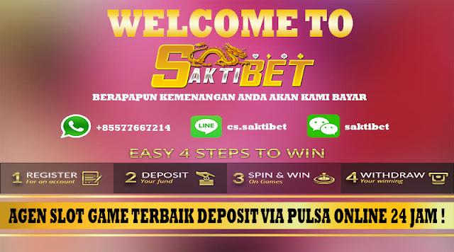 Agen Slot Game Terbaik Deposit Via Pulsa Online 24 Jam !