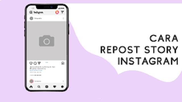 Cara Repost Story IG