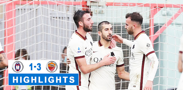 Crotone vs Roma – Highlights