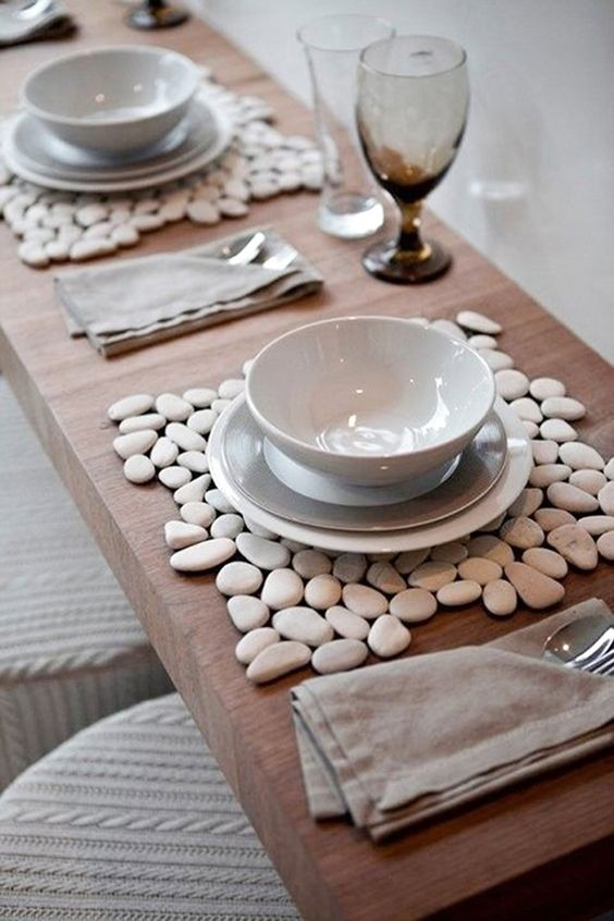 Handicrafts easy to make with stones