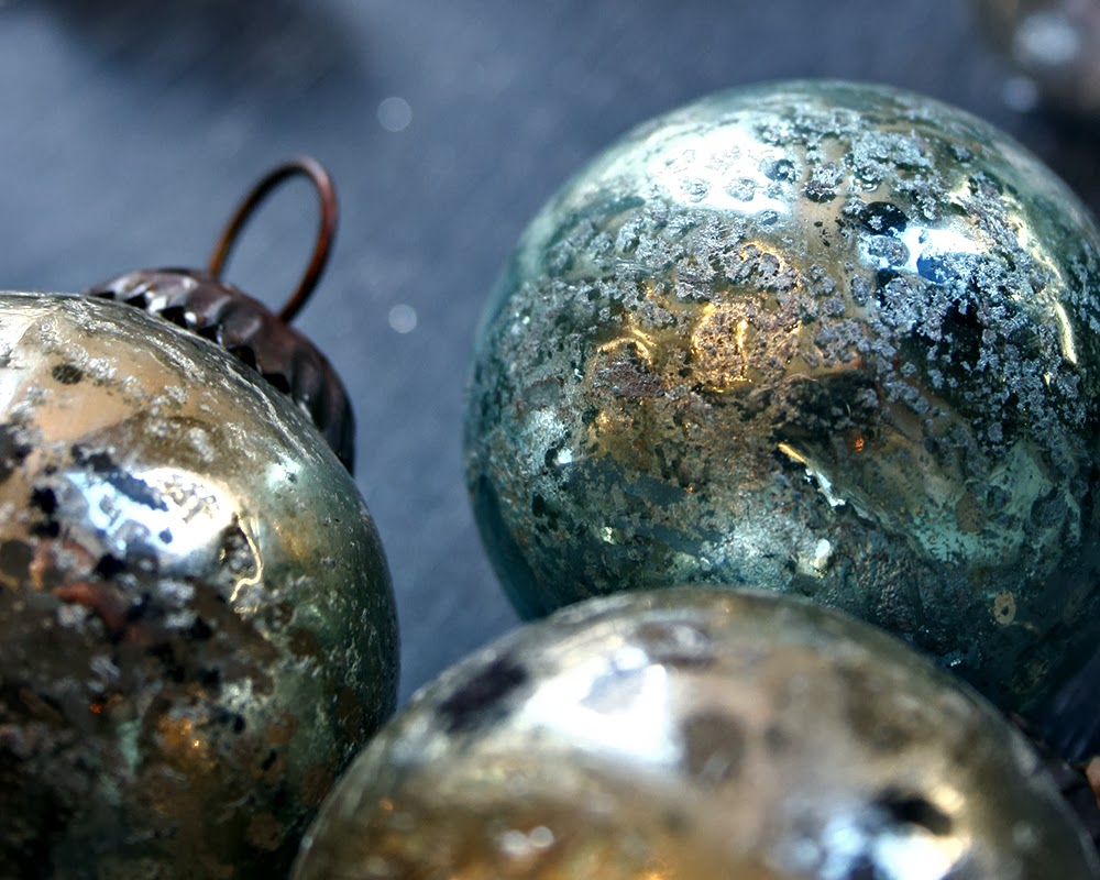 Beautiful glass ornaments - Eternally Classic And Always Beautiful The Silvery Shine Of Mercury Glass Always Adds That Extra Christmas Glint To The Rest Of Our Holiday Decor