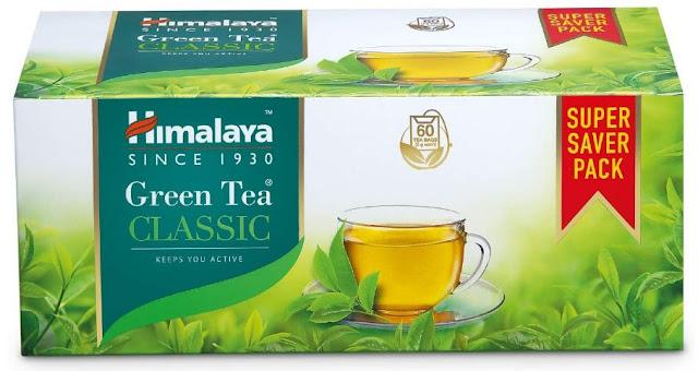 Himalaya Green Tea - 60 Tea Bags