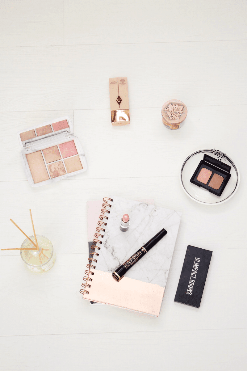 The minimal makeup routine
