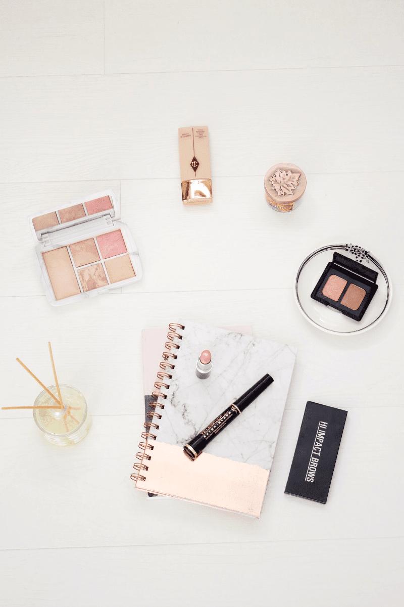 The minimal makeup routine