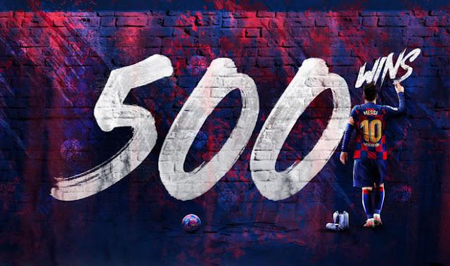 Messi ghi 2 bàn giúp Barca đại thắng: Lập kỷ lục 500 trận thắng chưa từng có