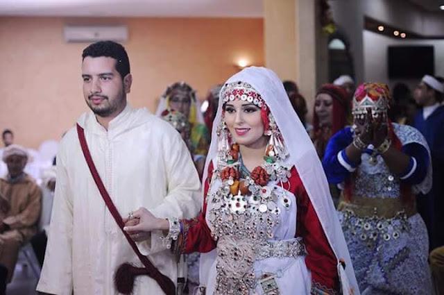 فستان الزفاف التقليد لدى الأمازيغ