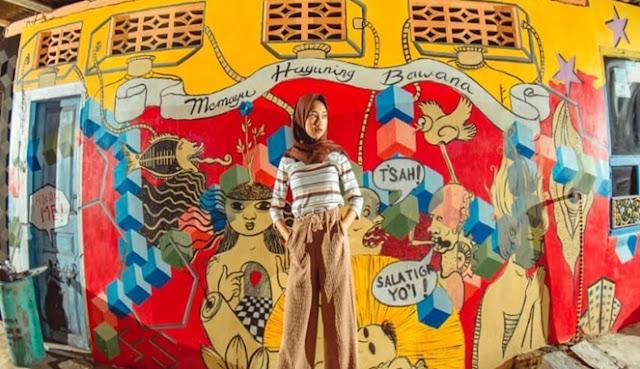 Kampung Wisata Pancuran Salatiga, Dulunya Dijuluki Kawasan Nakal Kini Menjadi Destinasi Wisata Lokal