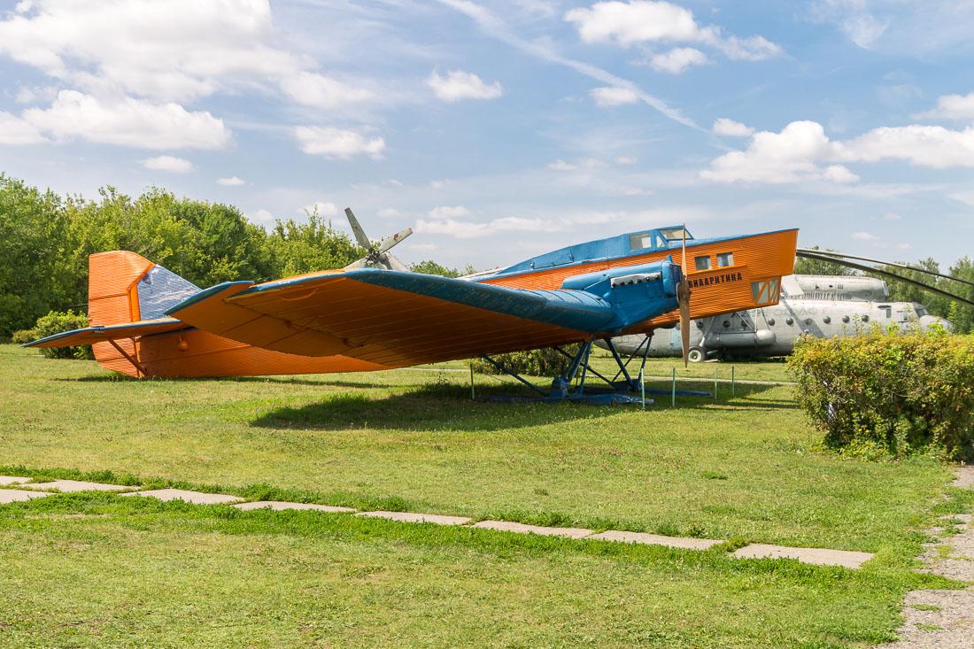 Самолёт Ант-4 (ТБ-1) вид сбоку