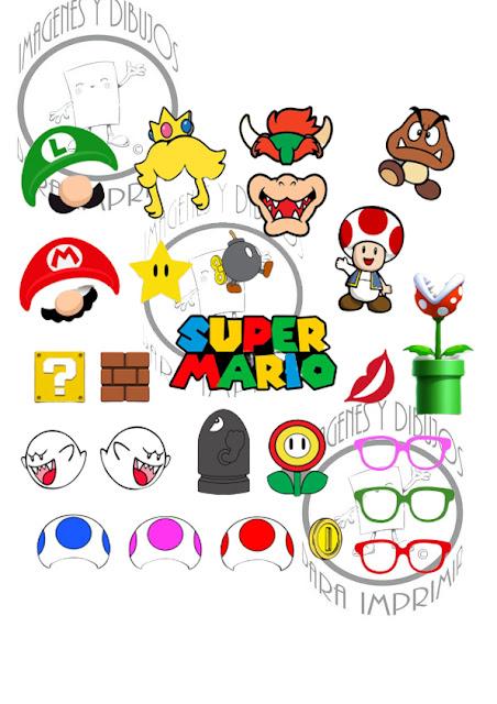 Super Mario Bross 💣para decoraciones infantiles