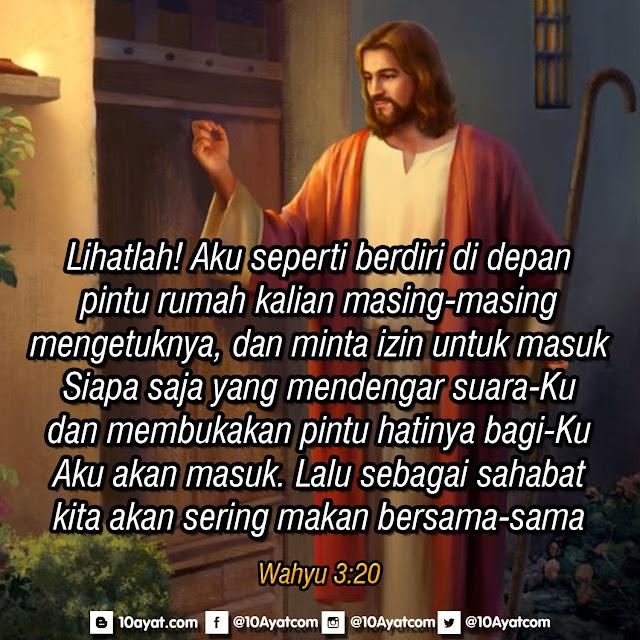 Wahyu 3:20