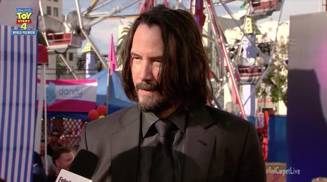 Toy Story 4 Keanu Reeves Premiere