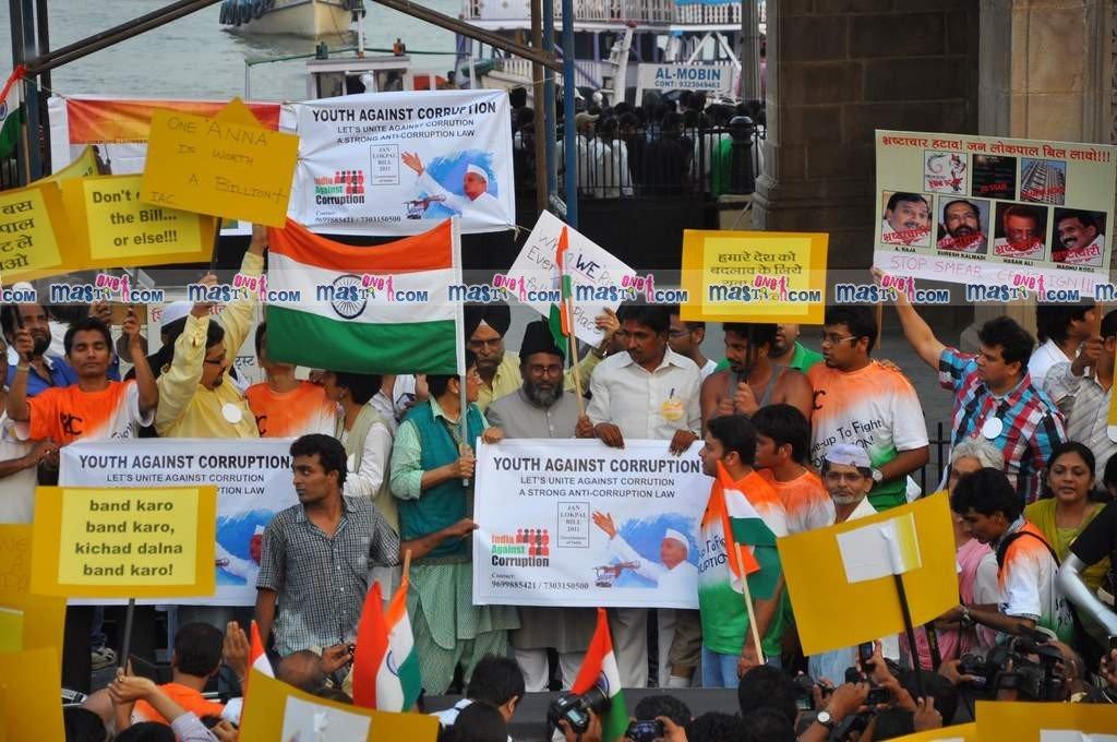 Anna hazare movement against corruption essay