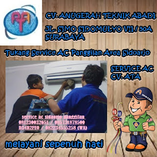 Tukang Service AC Panggilan Area Sidoarjo