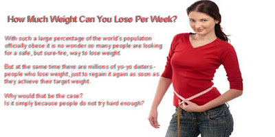 What can you do to lose weight