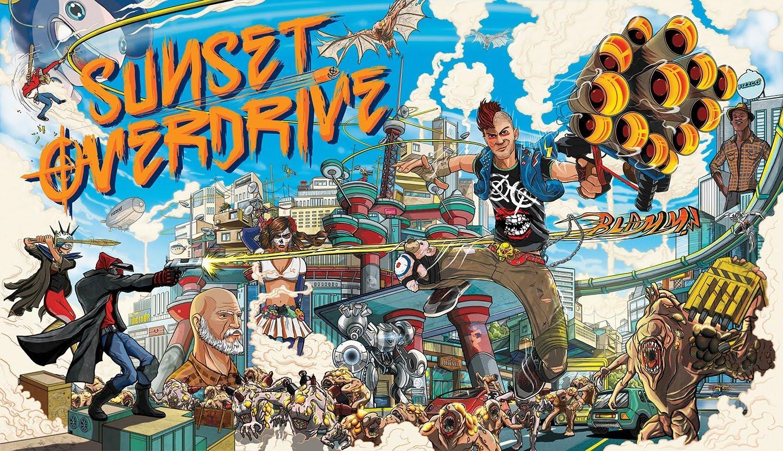 La secuela de Sunset Overdrive depende de Microsoft