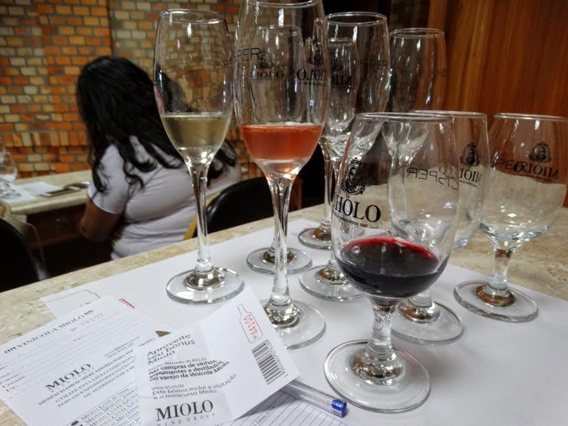 Vinícolas do Rio Grande do Sul: degustação de vinhos na Vinícola Miolo