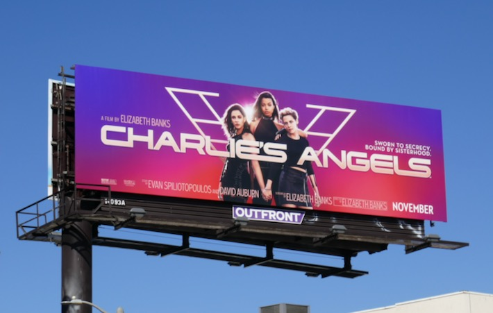 Charlies Angels movie remake billboard