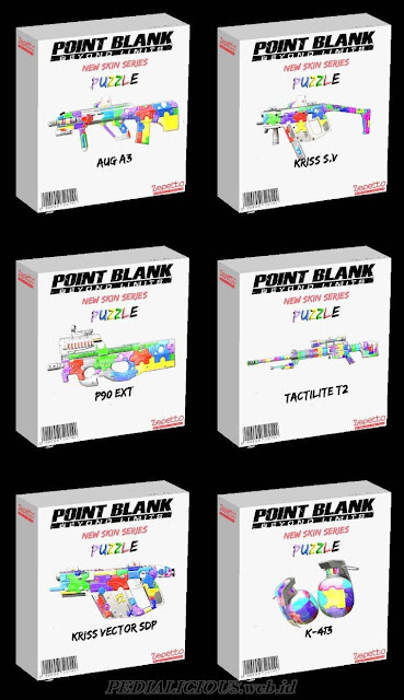 Harga & Statistik Seri Puzzle Senjata Point Blank