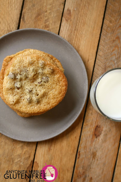 Best ever gluten-free chocolate chip cookies recipe | Anyonita Nibbles Gluten-Free