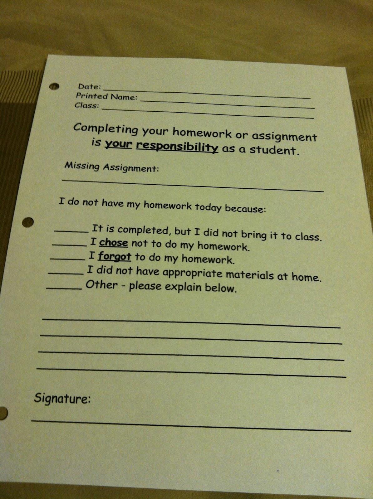 Teaching The No Homework Binder