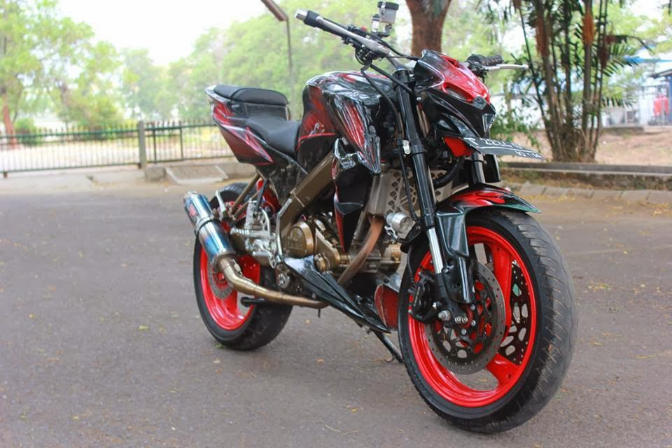 modifikasi yamaha all new vixion
