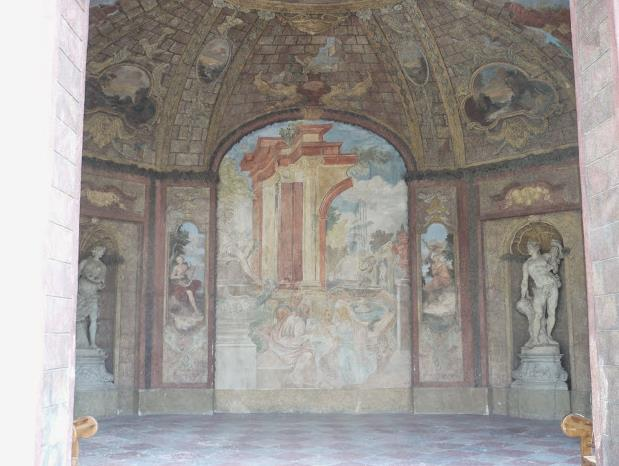 affreschi nei Giardini Vrtbovska