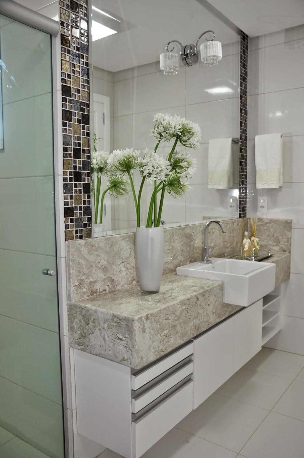 Blog Lívia Bonfim Design de Interiores: Apartamento em Machacalis! #4A5F2C 1062x1600 Bancada Banheiro Marmore Bege Bahia