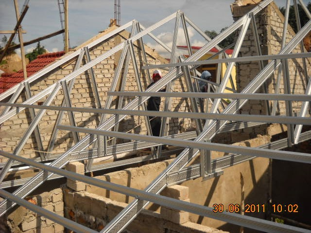 Baja Ringan Pdf Terpopuler 27 Cara Pemasangan Rangka Atap