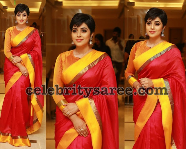 Poorna Red and Yellow Traditional