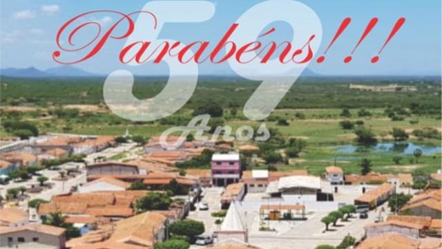 Cacimba de Areia comemora 59 anos de Emancipação Politica