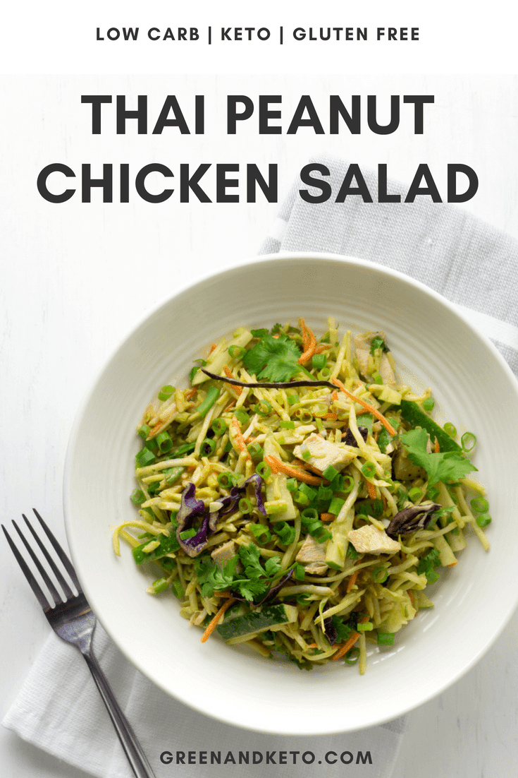 Thai Peanut Chicken Salad Slaw