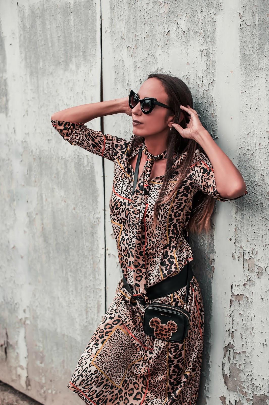 abito leopardato