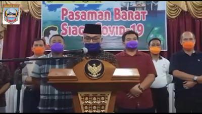 Pasbar Lakukan Tracking Pasca Meninggalnya Pasien Covid-19 asal Talu yang Berdomisili di Padang