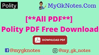 [**All PDF**] Polity PDF Download