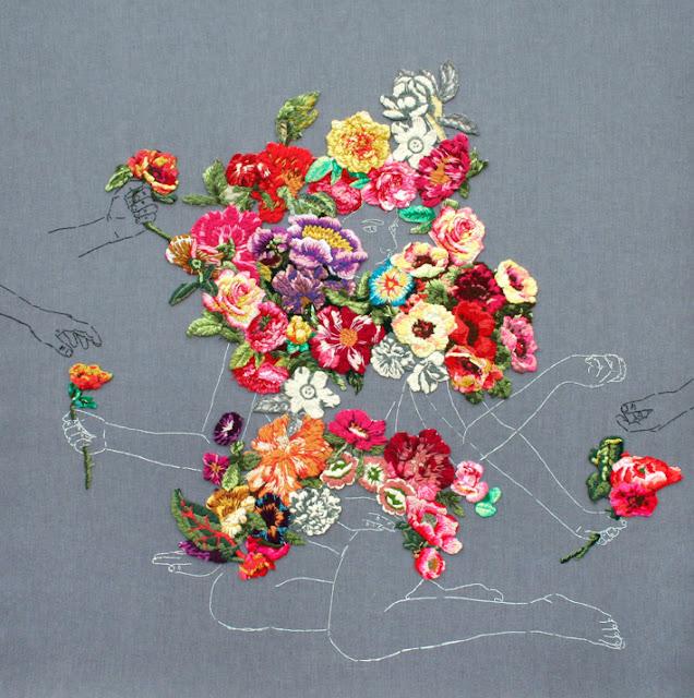 by ana teresa barboza | embroidery on fabric
