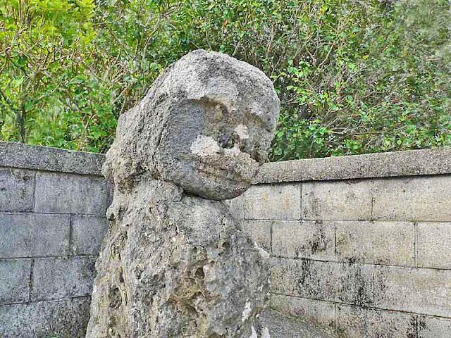 statue, stone-lion, shisa, Shimakanka, Okinawa