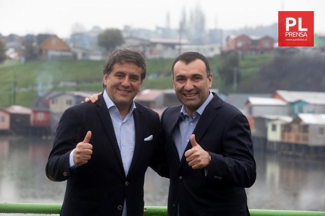 Alcalde de Castro encabezará la campaña de Alejandro Santana al Senado