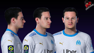 PES 2021 Faces Florian Thauvin by Prince Hamiz