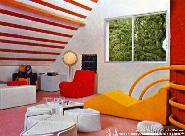 Chantilly - Maison d'Henri Delord  Décoration: Garrault-Delord: Henri Delord, Jean-Pierre Garrault  Création: 1972