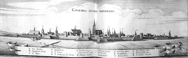 Merian - Topographia Alsatiæ (1644) — Colmar