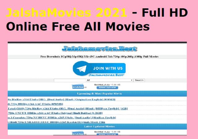 JalshaMovies 2021 - Full HD Online Free All Movies