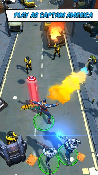 Captain America: The Winter Soldier for Android and iOS