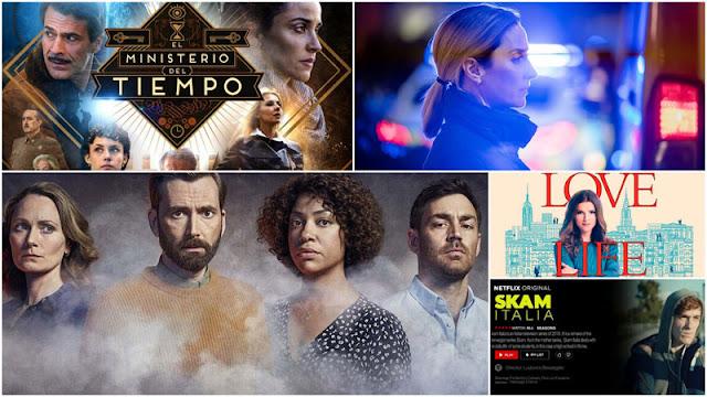 Reseña de 'El Incendio' y de 'The Bay' de Filmin. Críticas de 'Skam Italia', análisis 4x03 de 'El Ministerio del tiempo' y 'Love Life' de HBO