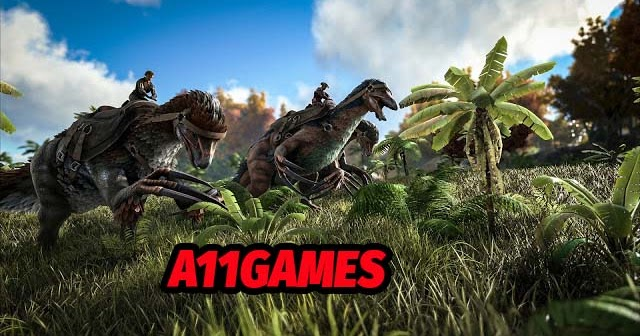 تحميل لعبة ark survival evolved للكمبيوتر