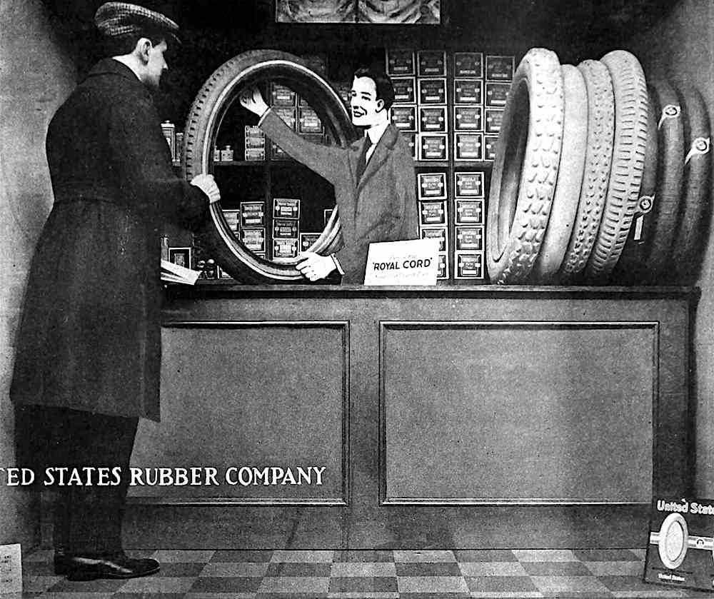 United States rubber company advertisement 1917