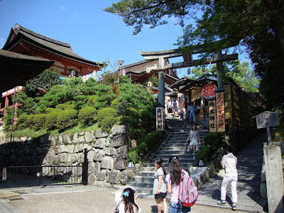 l'ingresso del tempio shintoista