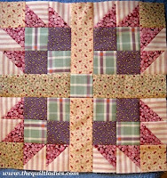 how to make a bear paw quilt pattern