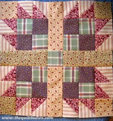 How to make the Quilt Pattern Bear's Paw