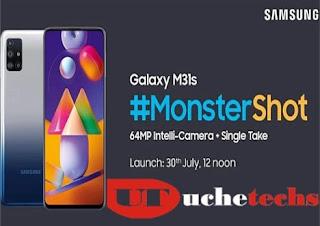 Samsung Galaxy M31s Specs